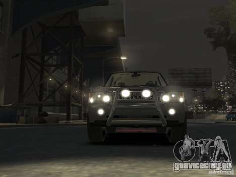 Range Rover Supercharged 2008 для GTA 4 вид сбоку