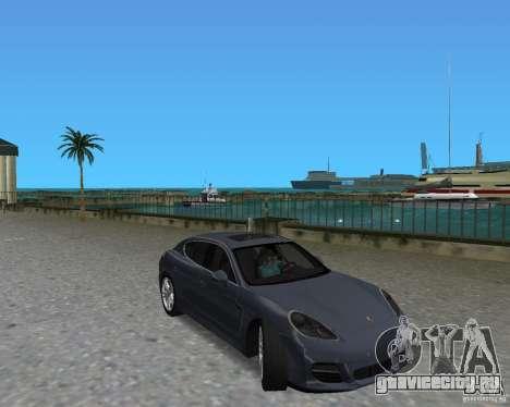Porsche Panamera для GTA Vice City вид слева