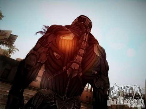 Crysis 2 Nano-Suit HD для GTA San Andreas третий скриншот