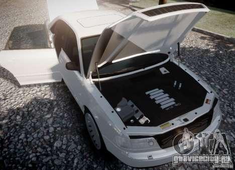 Audi A8 2000 для GTA 4 вид сзади слева
