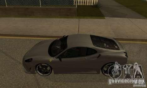 Ferrari 430 Scuderia Novitec для GTA San Andreas вид слева