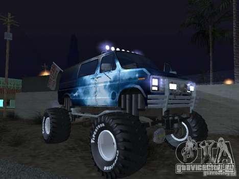 Ford Grave Digger для GTA San Andreas вид сбоку