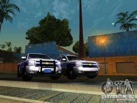 Chevrolet Silverado Rockland Police Department для GTA San Andreas