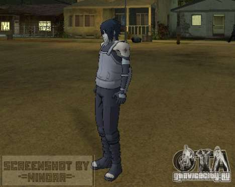 Скин Саске Анбу для GTA San Andreas третий скриншот