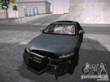 Audi RS6 2009 для GTA San Andreas вид сбоку