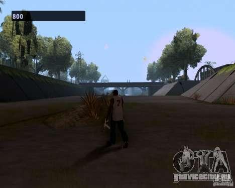 Гангстерская походка для GTA San Andreas четвёртый скриншот