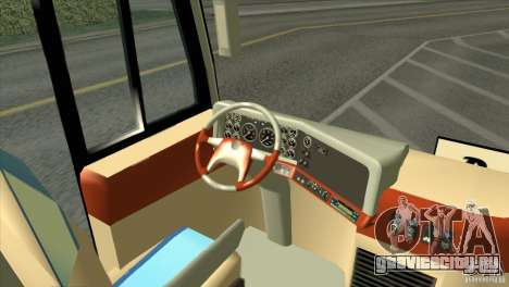 Hino New Travego RK1 для GTA San Andreas вид сзади