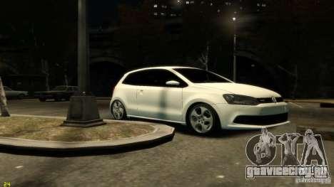 Volkswagen Polo v1.0 для GTA 4 вид слева