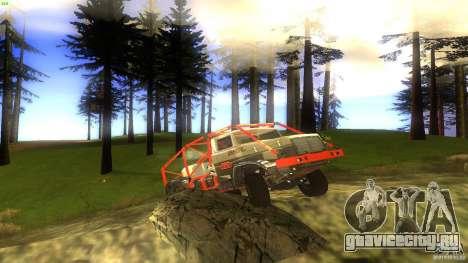 Insane 2 для GTA San Andreas вид изнутри