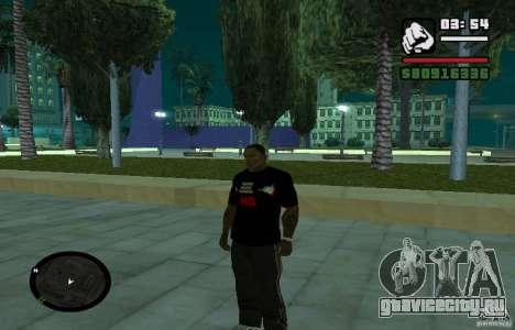 Футболка Хард Басс. для GTA San Andreas