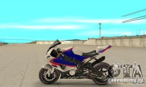 BMW S1000RR 2009 для GTA San Andreas вид слева