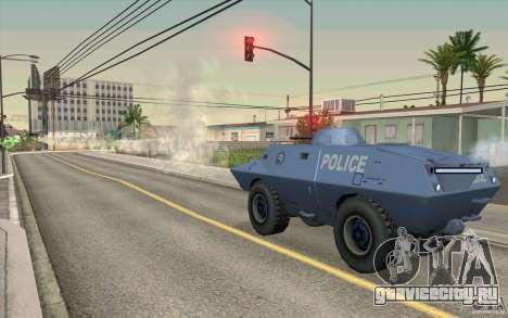 Охранник на БТР для GTA San Andreas четвёртый скриншот