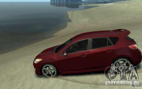 Mazda 3 MPS 2010 для GTA 4 вид слева
