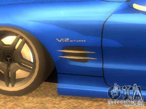 Mercedes-Benz SL65 AMG для GTA San Andreas