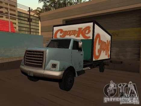 Yankee RUS для GTA San Andreas вид сзади слева
