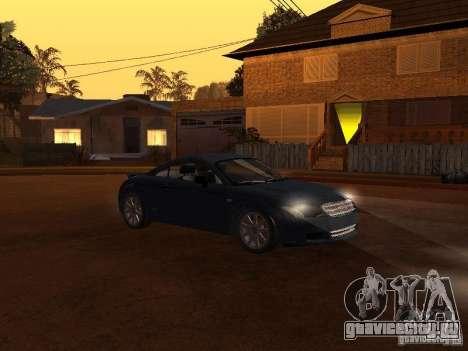 Audi TT 3.2 Quattro для GTA San Andreas вид слева