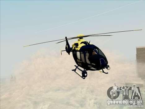 Eurocopter EC-135 Essex для GTA San Andreas вид сзади слева