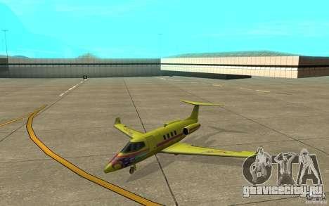 Shamal 1.0 Final для GTA San Andreas вид слева