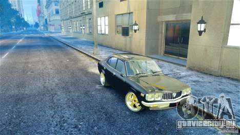 Mazda RX3 для GTA 4 вид справа