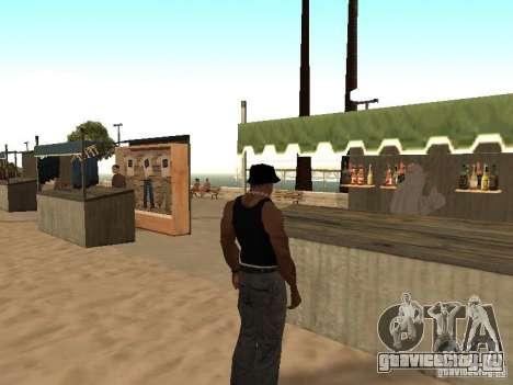 Рынок на пляже для GTA San Andreas седьмой скриншот