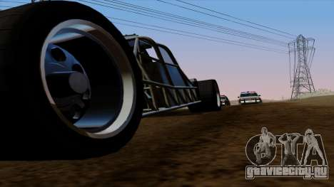 Flip Car из Furious 6 для GTA San Andreas салон