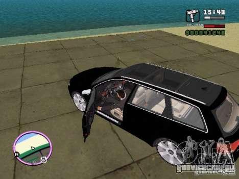 Audi A4 avant 3.2 QUATTRO для GTA Vice City вид слева