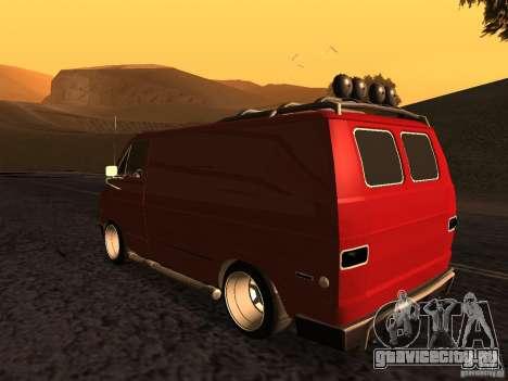 Dodge Tradesman 1976 Tuned для GTA San Andreas вид слева