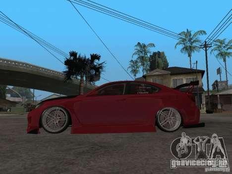 Lexus Drift Car для GTA San Andreas вид слева