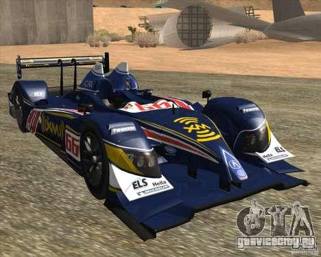 Acura ARX LMP1 для GTA San Andreas вид слева