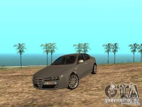 Alfa Romeo 159Ti для GTA San Andreas