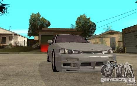 Nissan 200SX - Stock для GTA San Andreas вид сзади