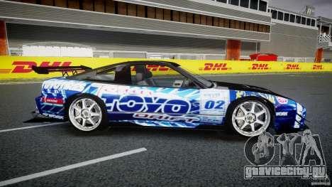 Nissan 240sx Toyo Kawabata для GTA 4 вид сбоку