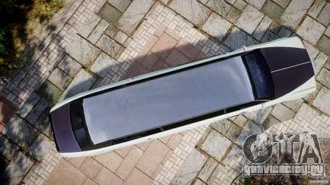 Rolls Royce Phantom Sapphire Limousine Disco для GTA 4 вид справа