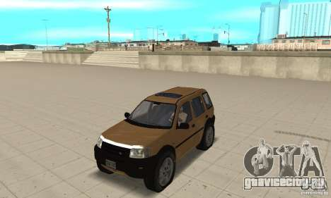 Land Rover Freelander KV6 для GTA San Andreas