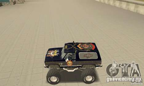 Chevrolet Blazer K5 Monster Skin 2 для GTA San Andreas