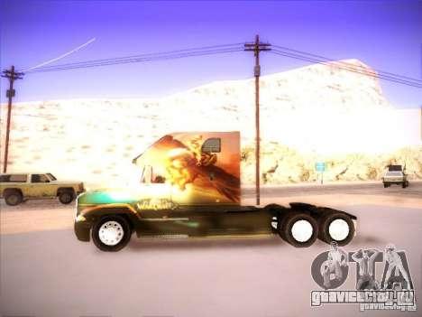 Mack Vision для GTA San Andreas вид справа
