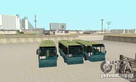 Den Oudsten Alliance v.2 для GTA San Andreas вид сзади