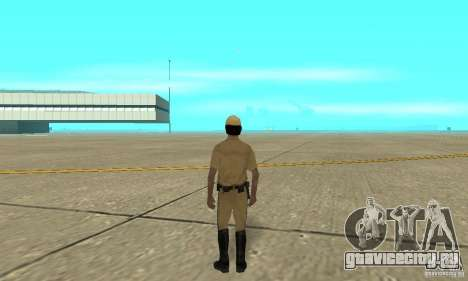 New uniform cops on bike для GTA San Andreas третий скриншот