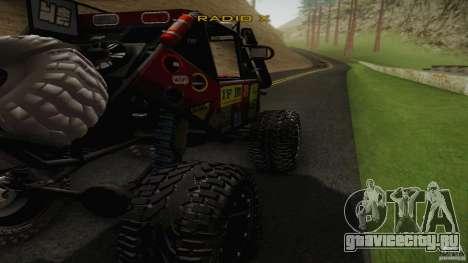 Buggy Off Road 4X4 для GTA San Andreas вид слева