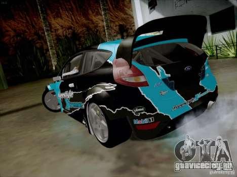 Ford Fiesta RS для GTA San Andreas вид сзади слева