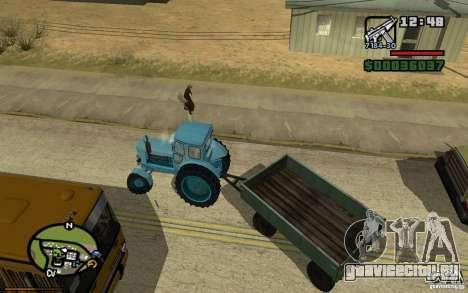 Активная приборная панель v3.2b для GTA San Andreas четвёртый скриншот