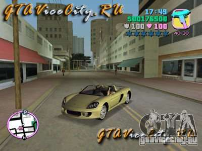 Porsche Carrera GT для GTA Vice City
