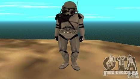 Commander Bacara для GTA San Andreas третий скриншот