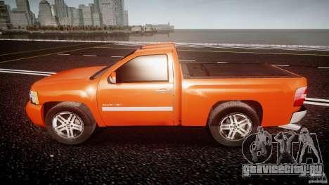 Chevrolet Silverado 2011 для GTA 4 вид слева