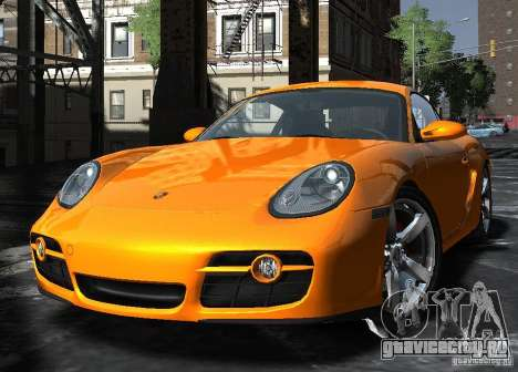 Porsche Cayman S1 для GTA 4