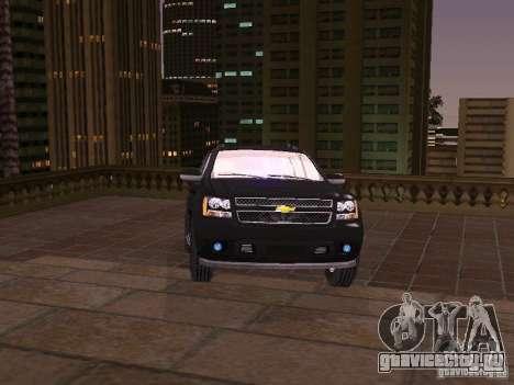 Chevrolet Avalanche для GTA San Andreas вид сзади слева