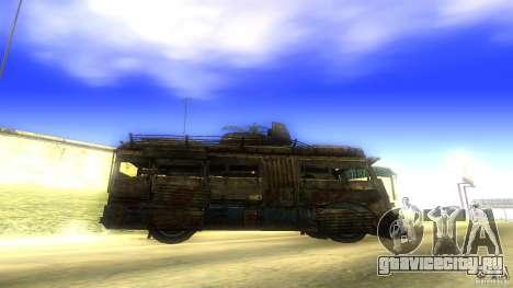 Frontline - MilBus для GTA San Andreas вид слева