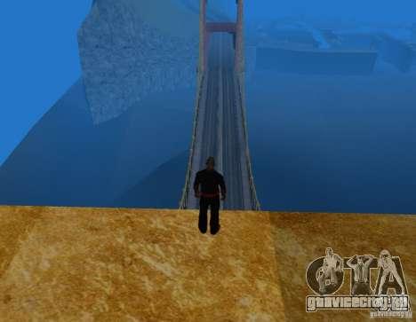 Золотые ворота для GTA San Andreas третий скриншот
