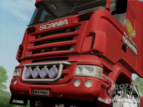 Scania R620 Brahma для GTA San Andreas вид сбоку