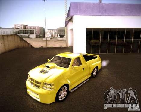 Dodge Dakota tuning для GTA San Andreas